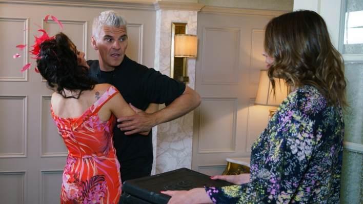 Vicky, Robert and Tracy - Coronation Street - ITV