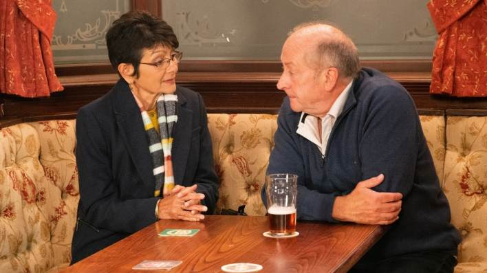 Geoff and Yasmeen - Coronation Street - ITV