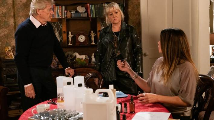 Ken, Beth and Carla - Coronation Street - ITV
