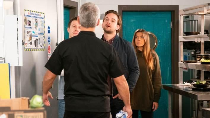 Robert, Ryan, Ali and Michelle - Coronation Street - ITV