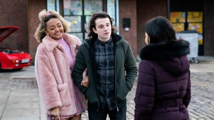 Emma, Seb and Alina - Coronation Street - ITV