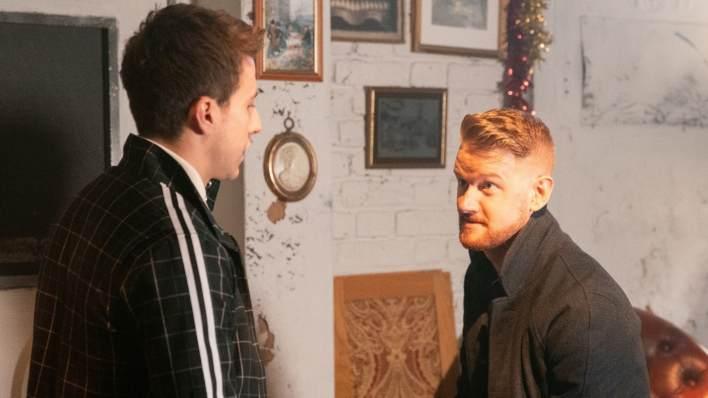 Ryan and Gary - Coronation Street - ITV