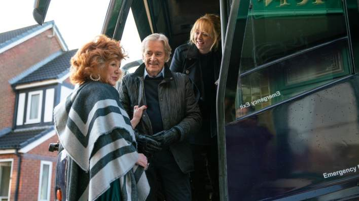 Claudia, Ken and Jenny - Coronation Street - ITV