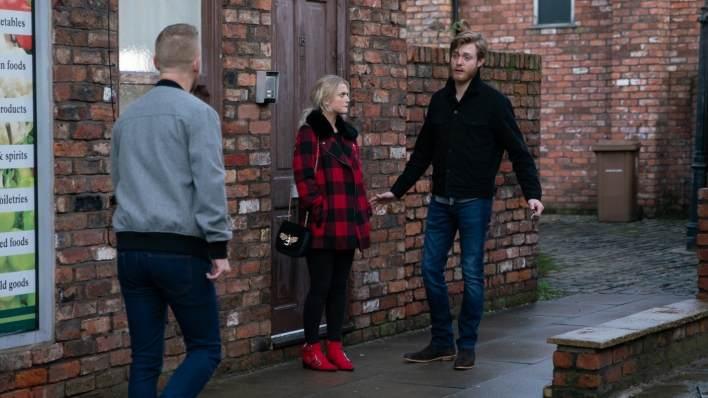 Gary, Bethany and Daniel - Coronation Street - ITV