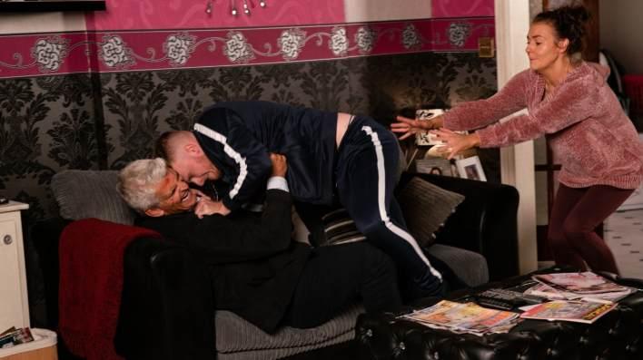 Robert, Tyler and Vicky - Coronation Street - ITV