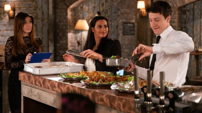 Michelle, Alya and Ryan - Coronation Street - ITV