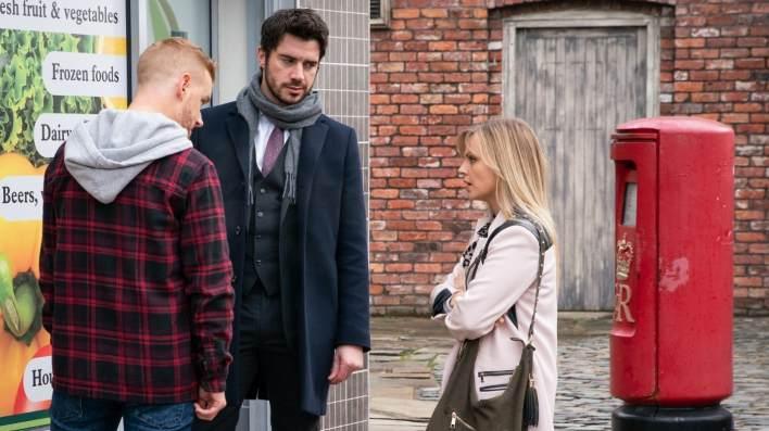 Adam, Gary and Sarah - Coronation Street - ITV
