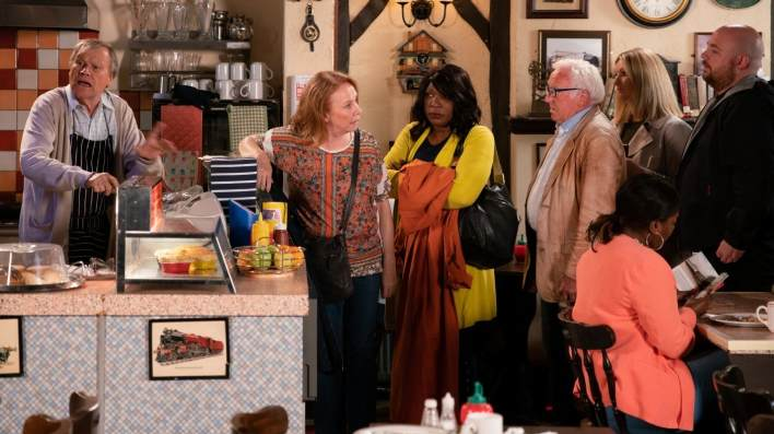 Roy, Cathy and Aggie - Coronation Street - ITV