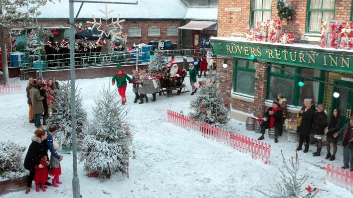 Father Christmas - Coronation Street - ITV