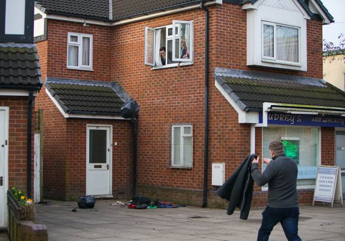 Emma, Seb and Steve - Coronation Street - ITV