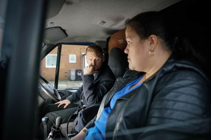Gary and Sharon - Coronation Street - ITV