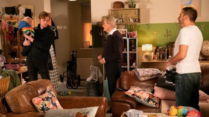 Bertie, Daniel, Ken and Peter - Coronation Street - ITV