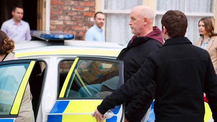 Phelan Arrested - Coronation Street - ITV