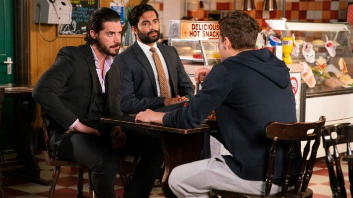 Ryan, Imran and Adam  - Coronation Street - ITV