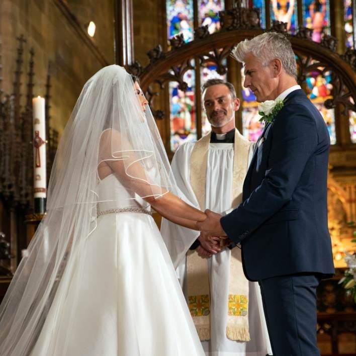 Michelle and Robert - Coronation Street - ITV