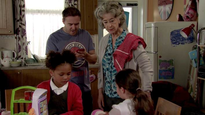 Tyrone, Evelyn, Ruby and Hope - Coronation Street - ITV