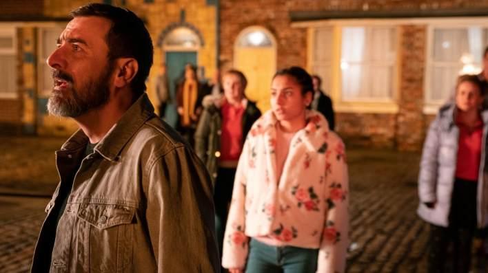 Peter and Asha - Coronation Street - ITV