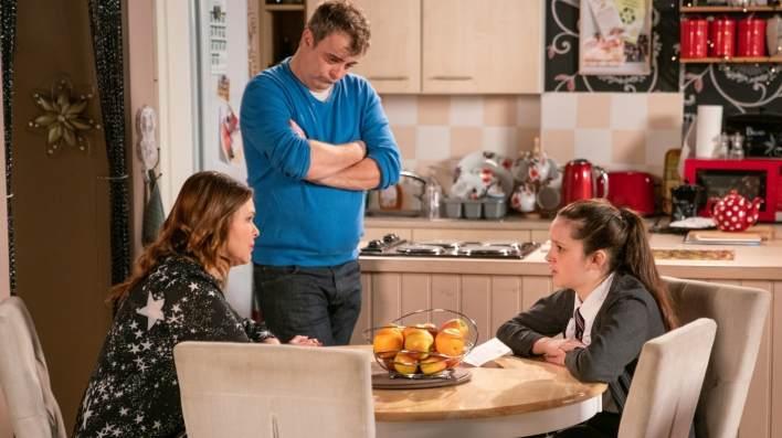 Amy, Steve and Tracy - Coronation Street - ITV