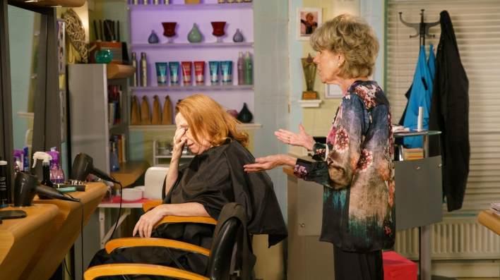 Audrey and Cathy - Coronation Street - ITV