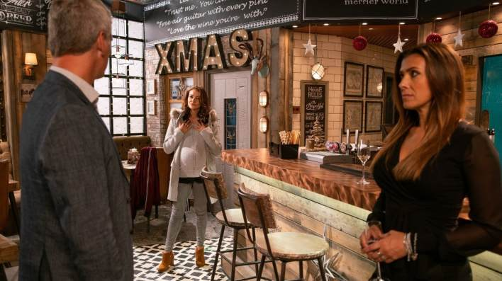 Robert, Vicky and Michelle - Coronation Street - ITV