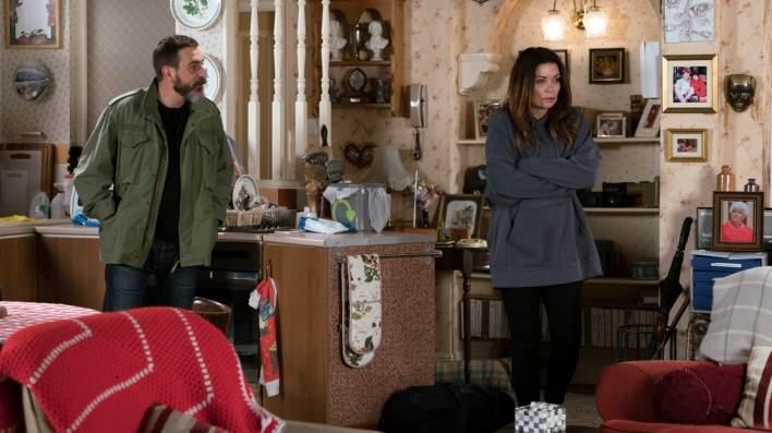 Carla and Peter - Coronation Street - ITV