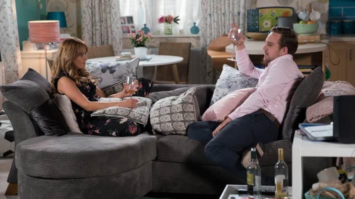 Maria and Ali - Coronation Street - ITV