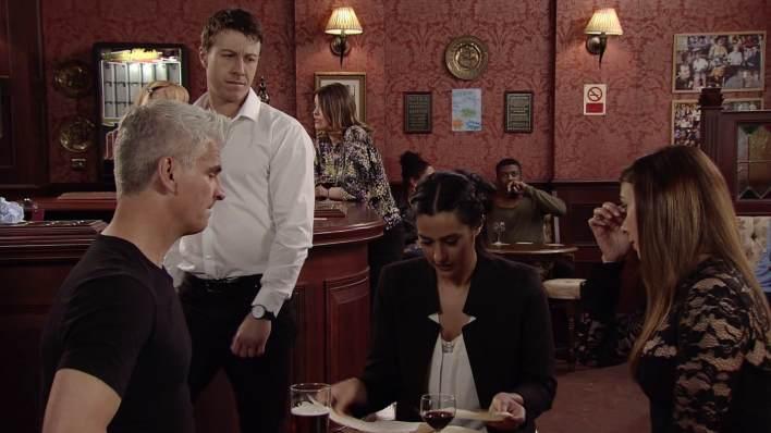 Robert, Ryan, Alya and Michelle - Coronation Street - ITV