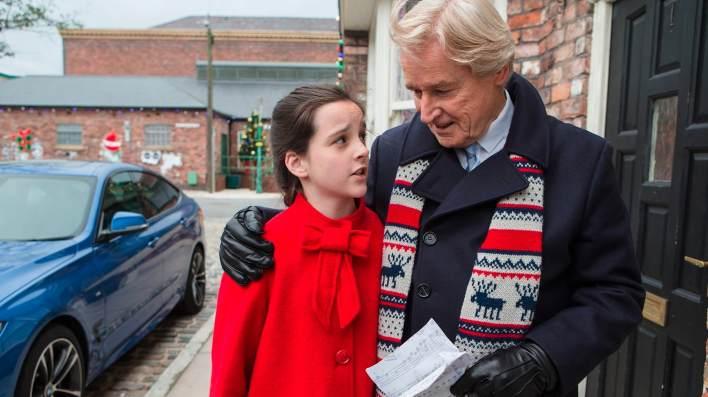 Amy and Ken - Coronation Street - ITV