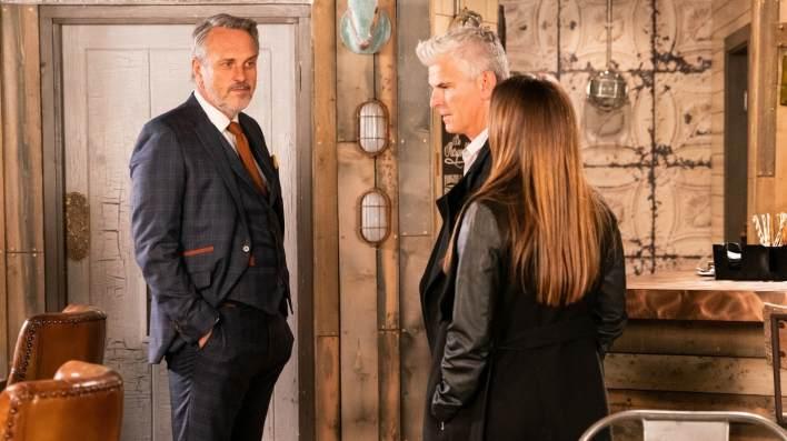 Ray, Robert and Michelle - Coronation Street - ITV