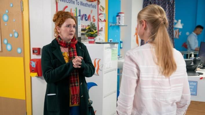 Fiz and the doctor - Coronation Street - ITV