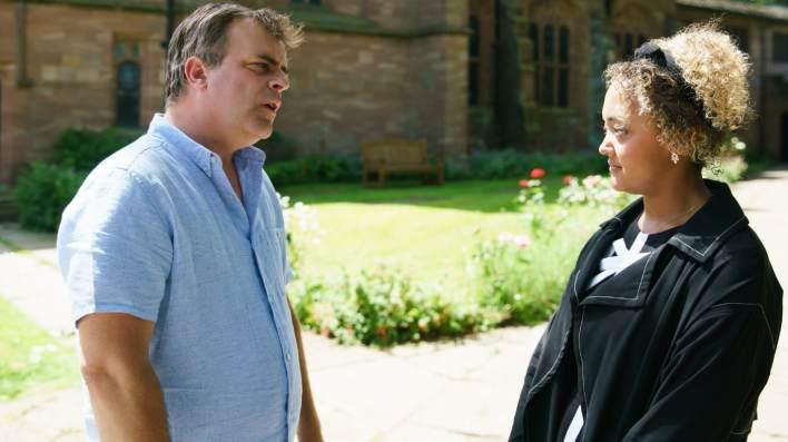 Steve and Emma - Coronation Street - ITV