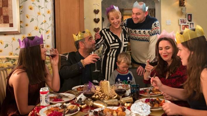 Sophie, Kevin, Sally, Jack, Tim, Anna, Faye - Coronation Street - ITV
