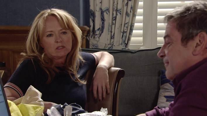 Jenny and Johnny - Coronation Street - ITV