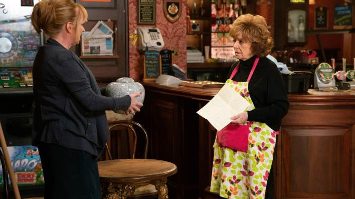 Rita and Jenny - Coronation Street - ITV