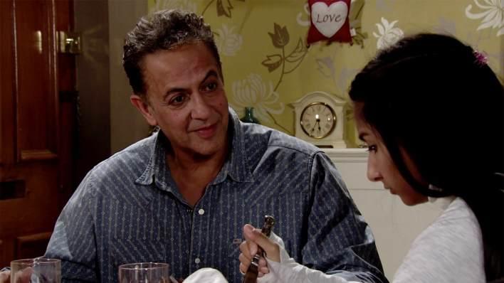 Aadi, Asha and Dev - Coronation Street - ITV