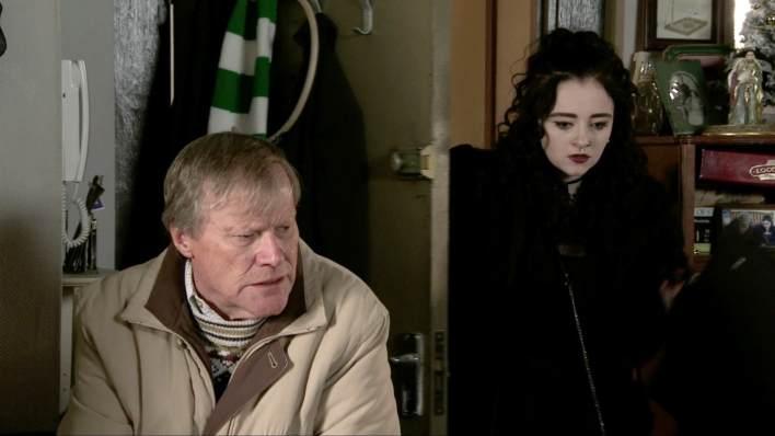 Roy and Nina - Coronation Street - ITV