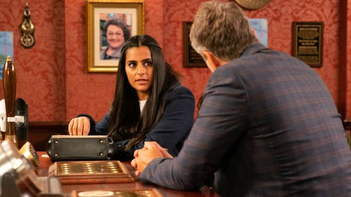 Alya and Ray - Coronation Street - ITV