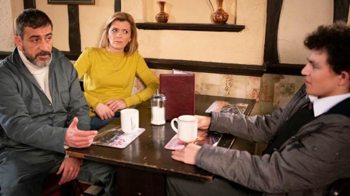 Peter, Leanne and Simon - Coronation Street - ITV