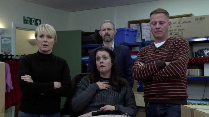 Sally, Izzy, Nick and Sean - Coronation Street - ITV