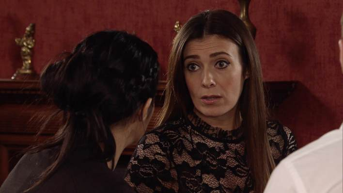 Michelle and Alya - Coronation Street - ITV