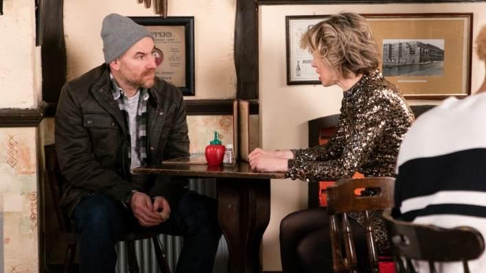 Tim and Abi - Coronation Street - ITV
