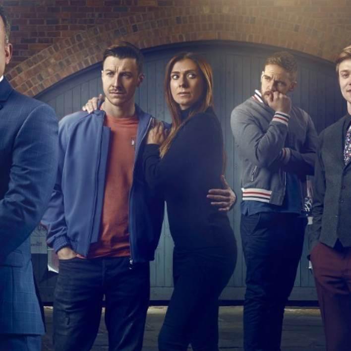 Ryan, Michelle and Ali - Coronation Street - ITV