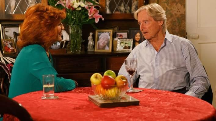 Ken and Claudia - Coronation Street - ITV