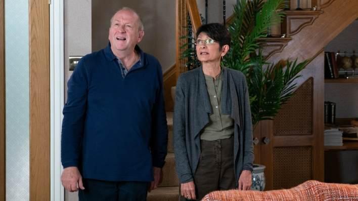 Geoff and Yasmeen - Coronation Street - ITV