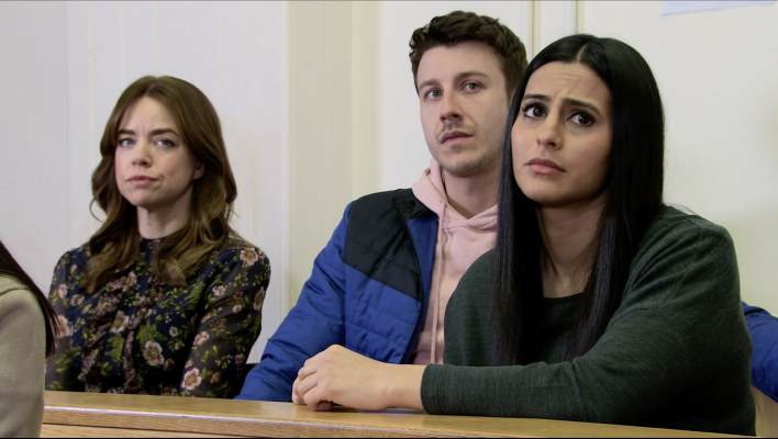 Alya, Ryan and Toyah - Coronation Street - ITV