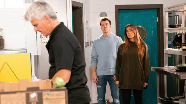 Robert, Ryan and Michelle - Coronation Street - ITV