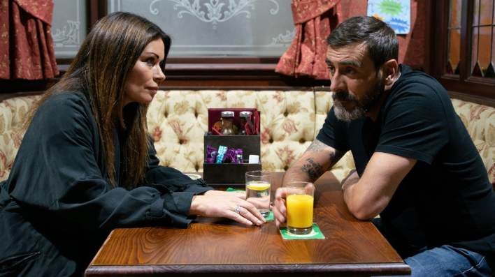 Carla and Peter - Coronation Street - ITV