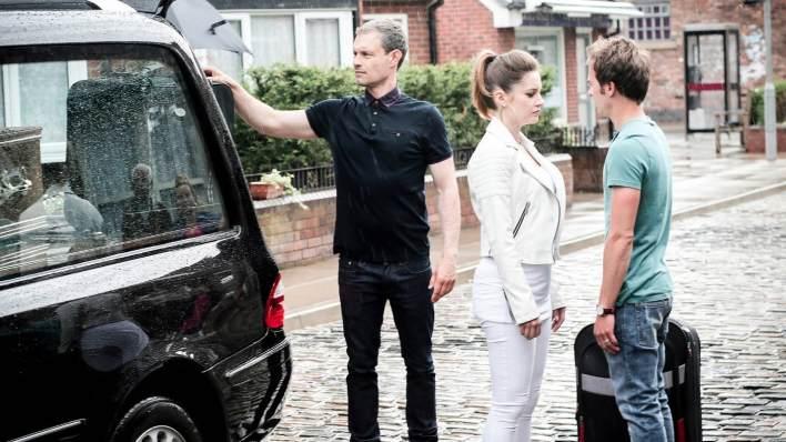 Nick, Kylie and David - Coronation Street - ITV