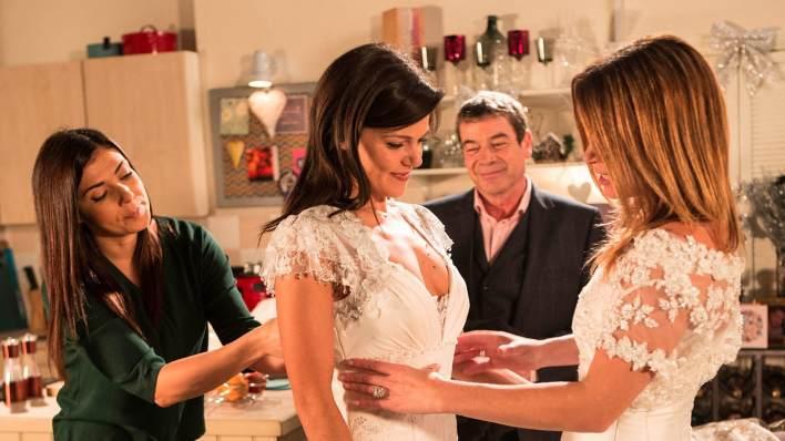 Michelle, Kate, Johnny and Carla - Coronation Street - ITV