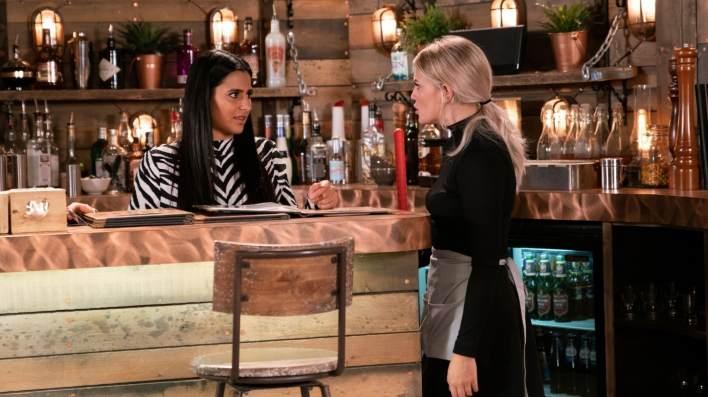 Bethany and Alya - Coronation Street - ITV